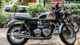 Triumph Bonneville T120 đẹp khó cưỡng tại Hà Nội | ULD.VN