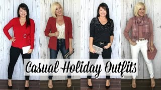 Casual Holiday Party Outfit Ideas | Winter Lookbook & Haul