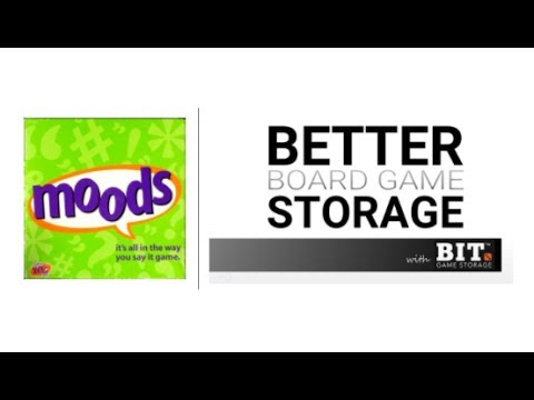Better Board Game Storage - Moods