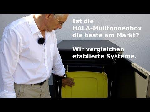 Mülltonnenboxen: Ein Vergleich der Systeme