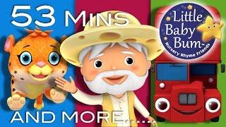 Nursery Rhymes Volume 7 | Plus Lots More Nursery Rhymes | 53 Minutes Compilation from LittleBabyBum!