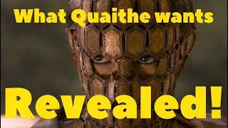 Who is Quaithe and what does she want?