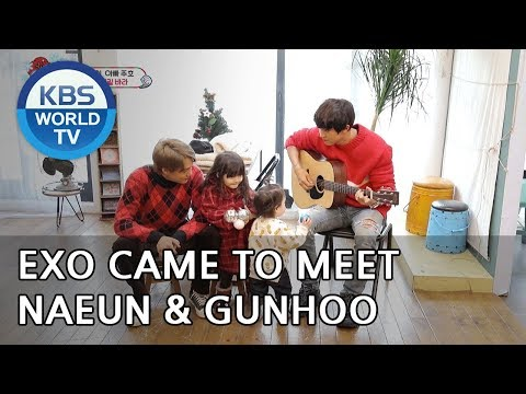 Why did EXO come to meet Naeun and Gunhoo?? [The Return of Superman/2018.12.30]