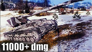 Рекорд по урону на ВАФЛЕПАЗИКЕ 🌟 11000+ dmg 🌟 Waffenträger auf Pz. IV World of Tanks