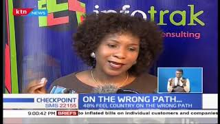 Country headed in the wrong path, INFOTRAK survey shows