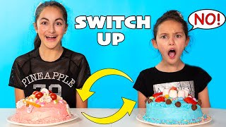Cake Switch Up Challenge   Elena cheated