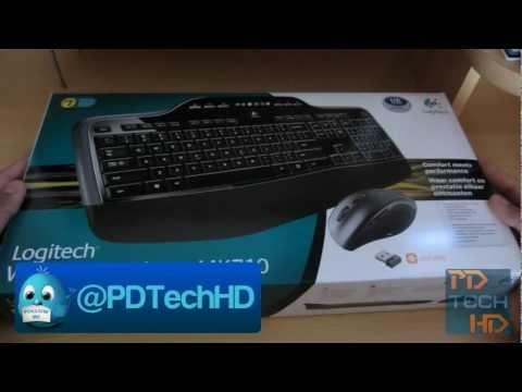 Raspakivanje i prvi pogled na miš i tastaturu Logitech MK 710