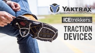 Yaktrax and IceTrekkers Traction Devices Comparison - GME Supply