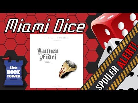 Miami Dice - T.I.M.E Stories: Lumen Fidei **SPOILERS!!**