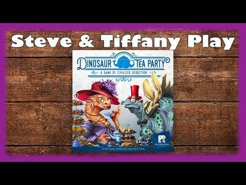 Steve & Tiffany Learn & Play: Dinosaur Tea Party
