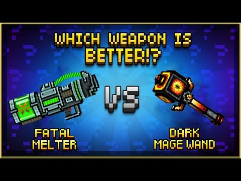 Fatal Melter VS Dark Mage Wand - Pixel Gun 3D