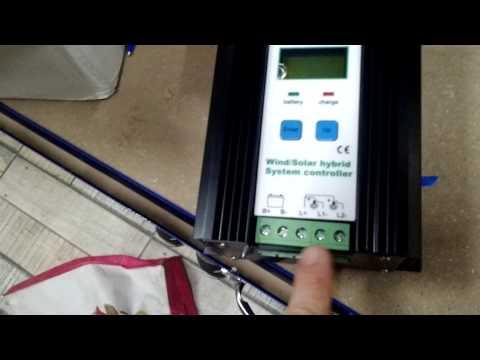 Controlador de energia híbrido solar e eólico , como montar um sistema híbrido de energia em casa