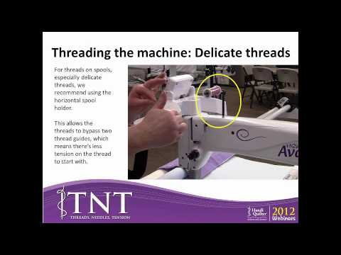 TNT Threads, Needles, Tension (Consumer Webinar 02.6.2012)