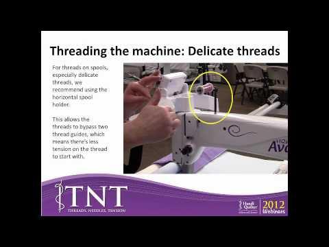 TNT Threads, Needles, Tension (Consumer Webinar 02.6.2012)