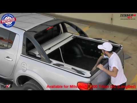Mitsubishi L200 (Triton) 2011->2015 roller lid shutter
