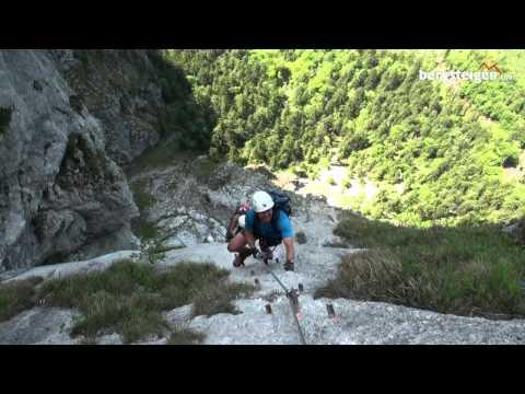 Klettersteig Mahdlgupf : Klettersteige herbert wolf bergführer