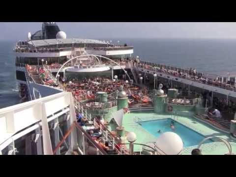 Cruise Ship Review: MSC Magnifica (3 day mini-cruise from Hamburg to Southampton) – September 2014
