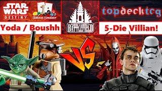 eYoda & eBoushh vs eBala & eTalzin & FO Trooper