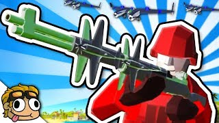 BOAT PLANES, PLANE GUNS, AND QUAD BOMBERS! | Ravenfield Weapon and Vehicle Mod Beta Gameplay