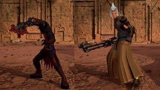 Kingdom Hearts III - Level 1 Terranort & Vanitas No Damage w/Restrictions (Proud Mode)