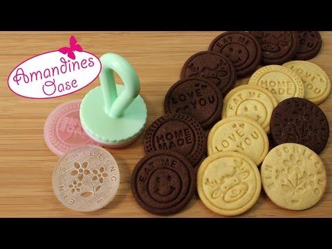 Keksstempel anwenden Tipps & Tricks | Kekse stempeln als Geschenk oder Botschaft | DIY