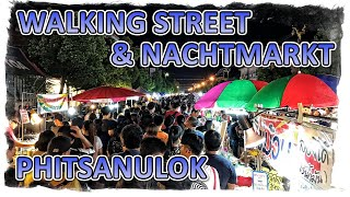 preview picture of video 'Thailand - Walking Street Phitsanulok VLOG#8'