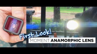 The MOMENT Anamorphic Lens Is Here!
