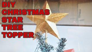 DIY Christmas Star Tree Topper - Theartproject - (2018)