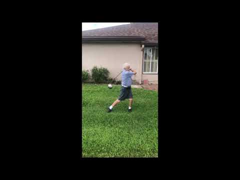 My brother made a video of our grandpa's golf tips. it's pretty good.