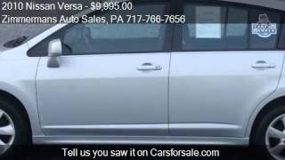 2010 Nissan Versa for sale in Mechanicsburg, PA 17055 at the