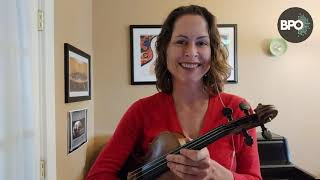 VIOLIN: One octave scales with Amy Glidden