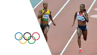 Women's 200m Semi-Finals - Adeoye, Simpson & Peter | London 2012 Olympics