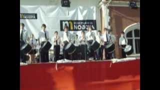 preview picture of video 'Show de Tambores Banda Municipal Villaguay en Nogoya.'