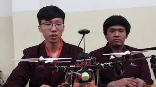 CeritaBINUSIAN 39 - Kontribusi Egbert & Farhan dalam membuat Drone Pestisida Otomatis