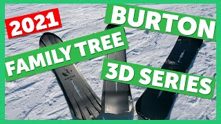 2021 Burton Family Tree 3D Snowboard Series Sneak Peek
