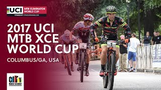 2017 UCI Mountain bike Eliminator World Cup - Columbus, GA (USA) full report