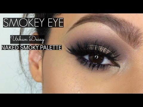 Urban Decay Naked Smoky Palette | Date Night Smoky Eye