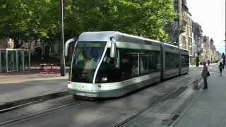 preview picture of video 'Nancy en tram'