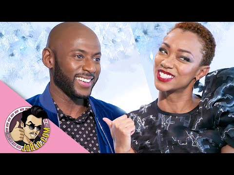 Sonequa Martin-Green and Romany Malco Interview for Holiday Rush