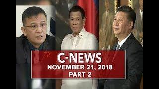 UNTV: C-News (November 21, 2018) PART 2