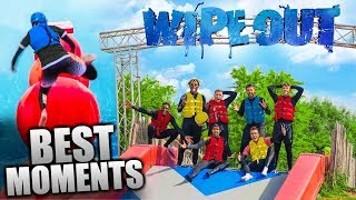 SIDEMEN TOTAL WIPEOUT CHALLENGE   Funniest Moments
