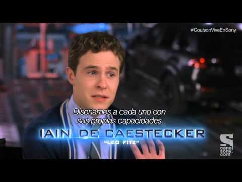 Featurette de Iain De Caestecker y Elizabeth Henstridge (Agentes Jemma Simmons y Leo Fitz)