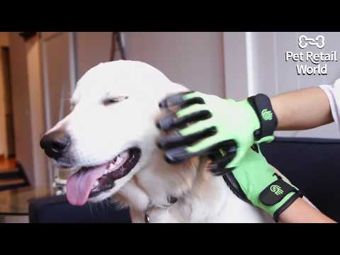 HandsOn Grooming & Massaging Gloves