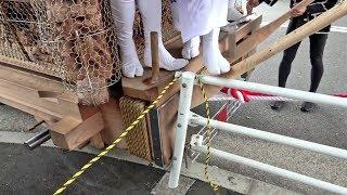 岸和田だんじり祭2018事故&ハプニング
