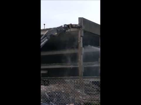 BCA Parking Garage Demolition 10172013