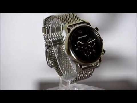 90dee5d1b57 relógio armani ar1811 prata. Carregando zoom.