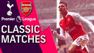 Tottenham v. Arsenal | PREMIER LEAGUE CLASSIC MATCH | 3/5/16 | NBC Sports