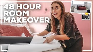 48 HOUR ROOM TRANSFORMATION! | Morgan Yates