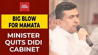 TMC Leader Suvendu Adhikari Resigns As Bengal Minister - Download this Video in MP3, M4A, WEBM, MP4, 3GP