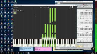 Synthesia の譜面表示と特殊な使用法